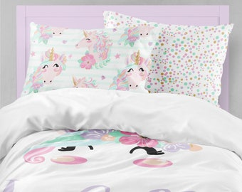 Unicorn Bedding Etsy