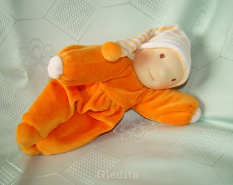 ORDER! - Waldorf Elf doll - waldorf doll - plush doll - soft doll