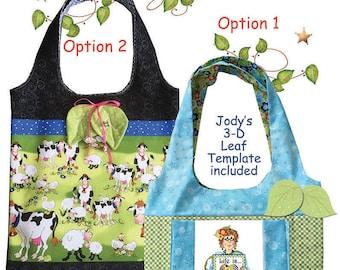 Downloadable Shopping Bag Pattern for Jody's Art Panels