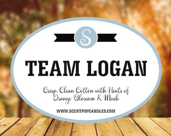 Team Logan, Gilmore Girls Inspired Soy Candles