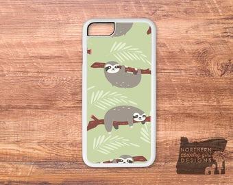 sloth / sloth phone case / sloth iPhone case / iPhone 7 case / iPhone 7 plus case / iPhone 6 case / iPhone se case / iPhone 6 plus case