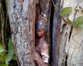 Dryad Sculpture OOAK