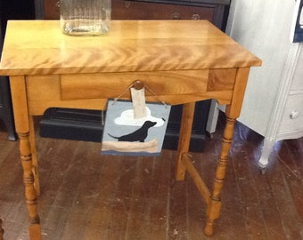 Ethan Allen Vanity/Desk/Entry Table - Cottage Chic