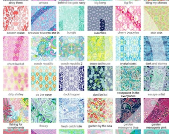 More Lilly Pulitzer Vinyl or htv... indoor, outdoor, glitter and metallic VINYL and heat transfer vinyl HTV and applique FABRIC