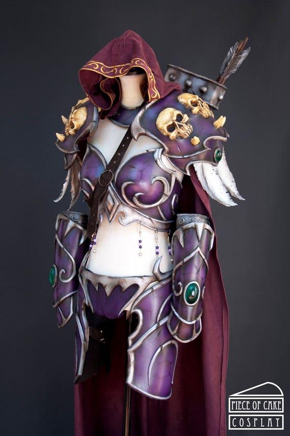 sylvanas cosplay armor installment