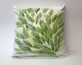 Spring Leaves Cushion