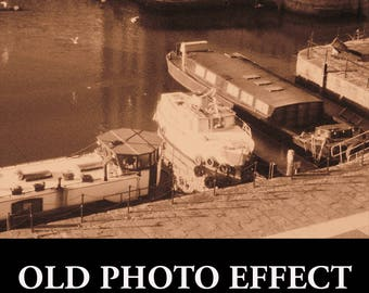 Old Photo Effect Photoshop Actions