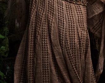 Hip Belt bead Jewel made of natural seeds and bells