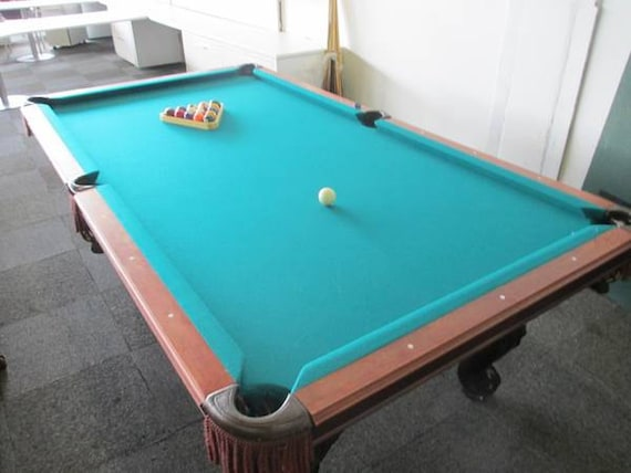 Items Similar To Vintage Sterling Pool Table By Peter Vitalie Co On - Sterling pool table