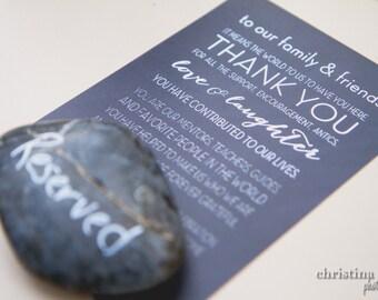 Best Day Ever Wedding Program Alternative Thank You Card