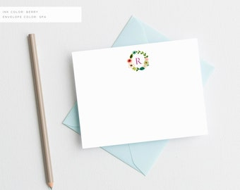 Personalized Note Cards Monogrammed Stationary Monogram Stationery Custom Stationary Personalized Stationery Personalized Stationary Set