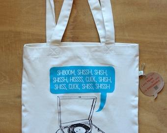Record Shoping Bag - Shboom Eco Tote Bag