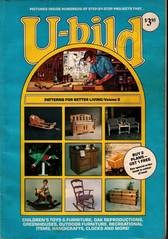 U+bild Patterns For Better Living, Volume 8 + Photographic Illustrations + 1983 + Vintage How+to Book