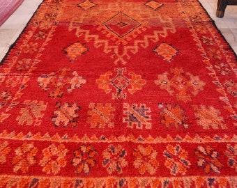 Vintage Moroccan Rhamna Rug