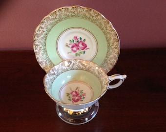 Vintage (1970s) Royal Stafford English Bone ChinaTea Cup Set