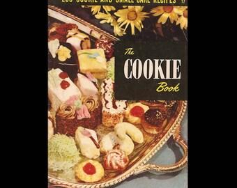 The Cookie Book - Vintage Recipe Booklet c. 1950