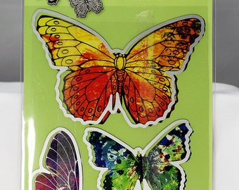 Stampendous Butterflies Die Cut Set - Butterfly Die Cut - Butterfly Die - Butterfly Cutter - Butterfly Die Set - Die Cut Set - 19-009