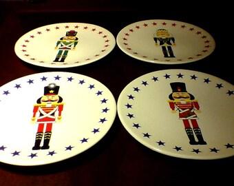 Boston Warehouse nutcracker plates & Nutcracker plates | Etsy