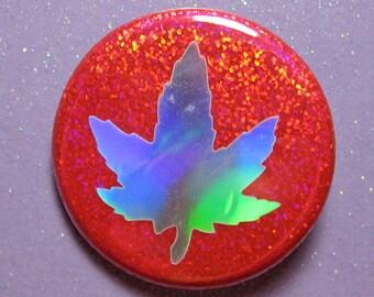 Weed leaf pin, stoner gift, weed gift, stoner girl