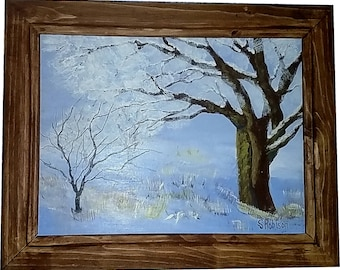 After The Snowstorm with frame