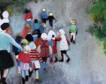 Kindergarten / print  / Printed art