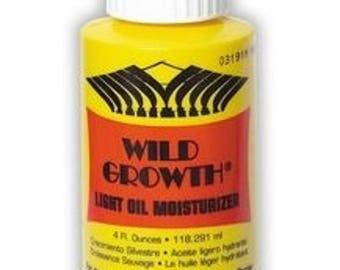 Wild Growth Light Oil Moisturizer 4 oz
