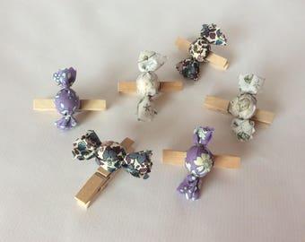 6 darts candy purple Liberty / storm