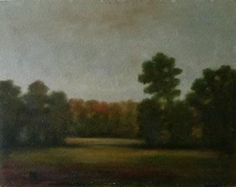 11x14 original oil painting done on an Italian board. Beautiful fall colors.
