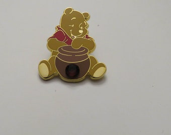 Disney 12 Months Of Magic Birthstone Pooh Ruby July Pin