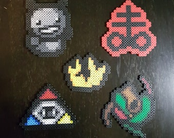 The Binding of Isaac themed Perlers