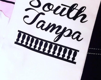 South Tampa oversized kitchen towel