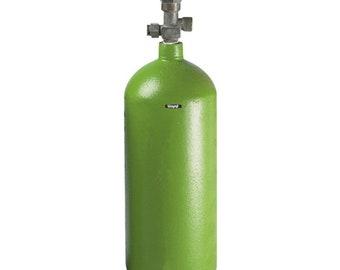 Oxygen R Tank Empty Cylinder 20 Cu Ft Soldering Welding JewelrlyWA 914-190