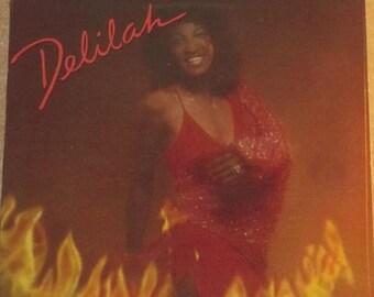 Delilah Dancing In The Fire Sealed Vinyl Disco Funk Record Album