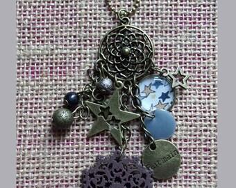 Liberty necklace adelajda grey