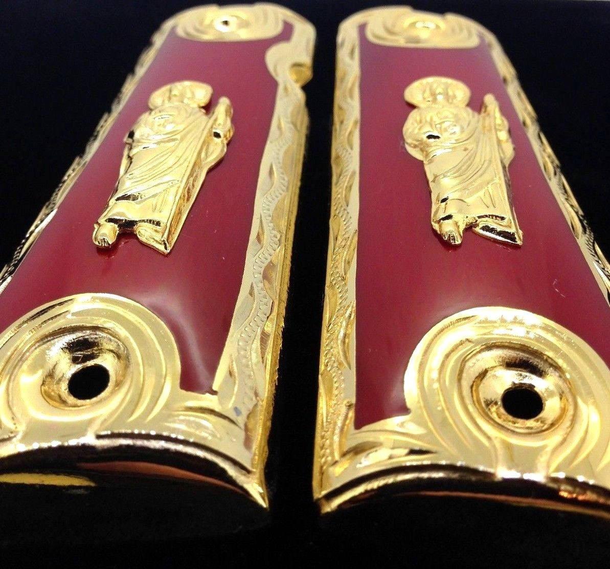 1911 • pistola apretones • St Jude • San Judas • parca • Springfield ...