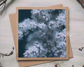 Floral Photo Card - Victorian bride
