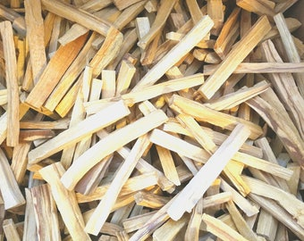 One Pound Palo Santo Sticks - Bulk 16 oz - Fresh Holy Wood Sticks ideal for smudging house cleansing negativity clearing blessing
