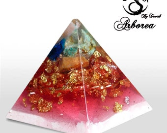 Orgone pyramid, orgonite ®  Lovers   orgon generator, orgonite,