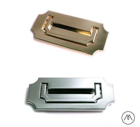 Charmant Campaign Furniture Handles Polished Brass Polished Chrome