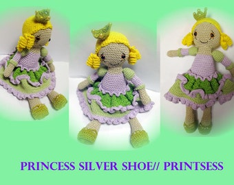 Amigurumi princess