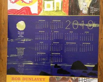 2018 studio calendar poster