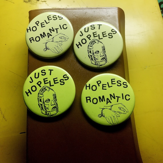 Hopeless Romantic Pin Set