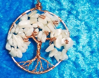 Chain Tree of life ' White Blossom '