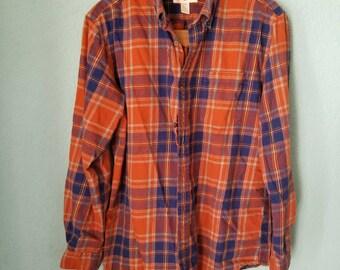 St John's Bay Flannel shirt