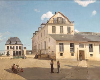 Poster, Many Sizes Available; Jean Baptiste Camille Corot House And Factory Of Monsieur Henry