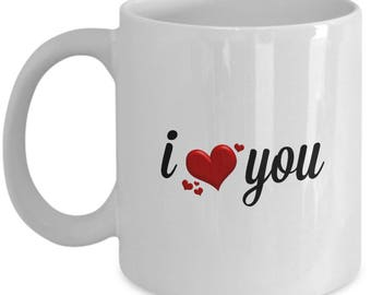 I Heart You Coffee Mug