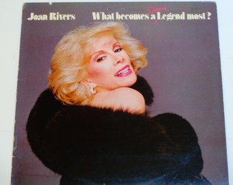 Joan Rivers - What Becomes A Semi-Legend Most - Comedy - Geffen Records 1983 - Vintage Vinyl LP Record Album