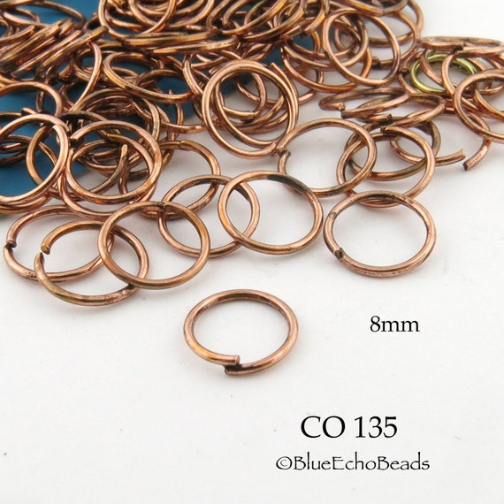 Shiny Copper Jump Rings