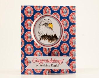 Congratulations Eagle Scout Card