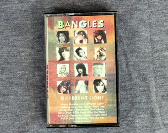 The Bangles - Different Light - Cassette Tape 1986